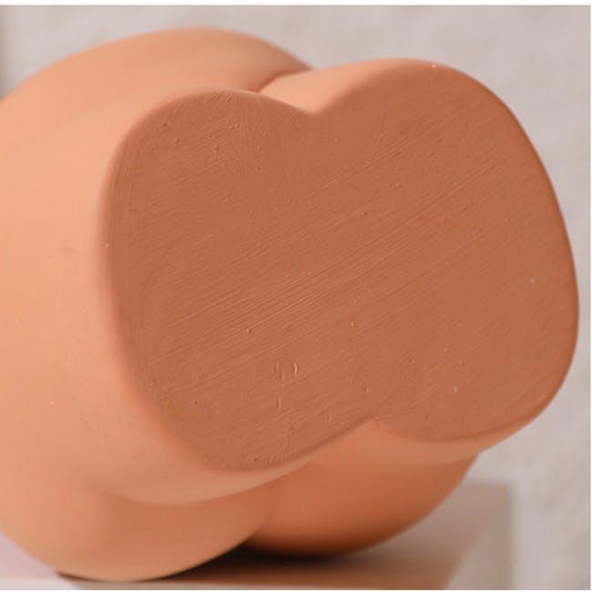 Female Sculpture Body Art  Ceramic Vase - Ivory - 6