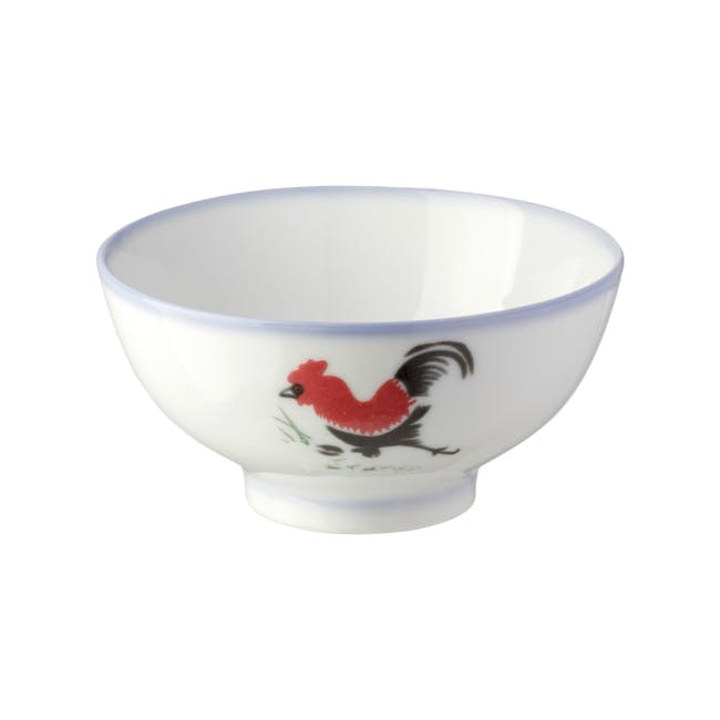 Rooster Small Bowl (Set of 6) - 1