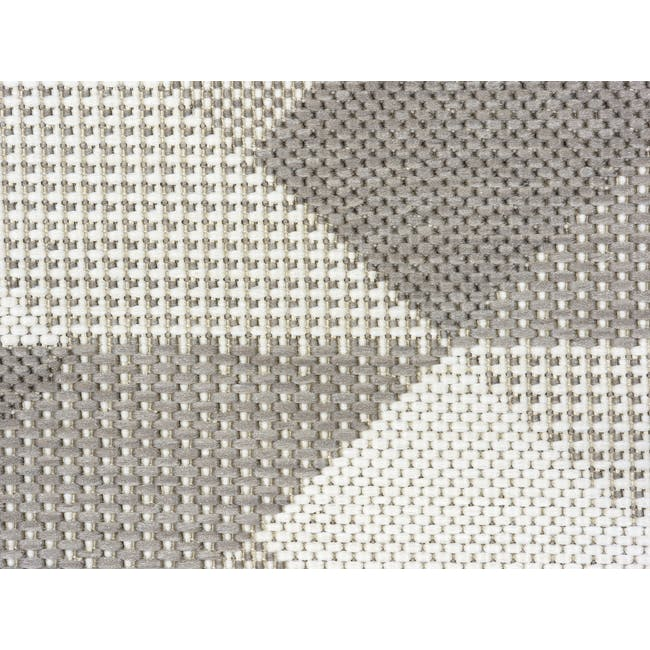 Essenza Flatwoven Rug 2.3m x 1.6m - Ecru Arrow - 2