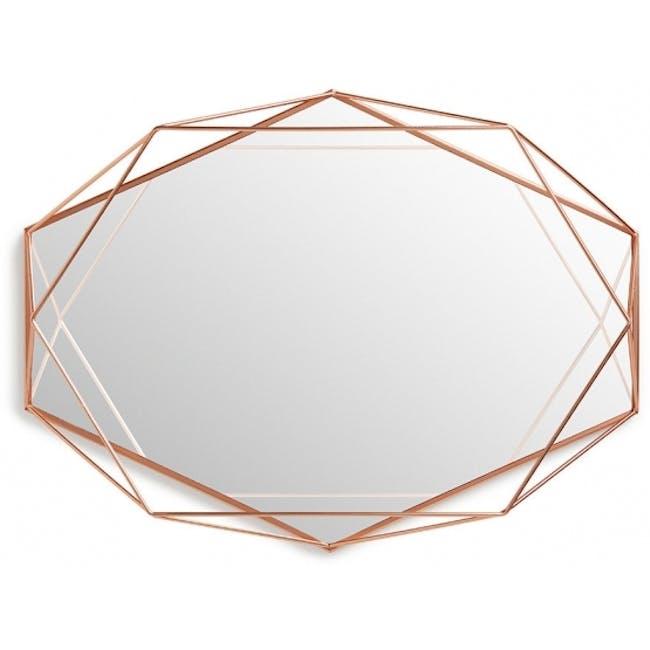 Prisma Mirror/Tray 57 x 43 cm - Copper - 4