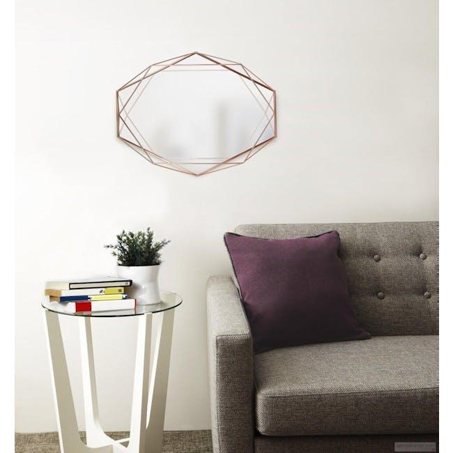 Prisma Mirror/Tray 57 x 43 cm - Copper - 3