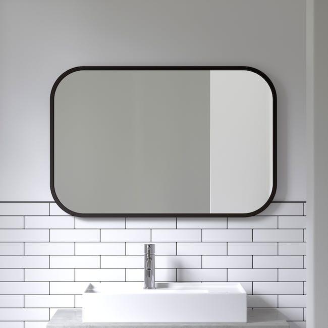 Hub Rectangle Mirror 61 x 91 cm - Black - 4