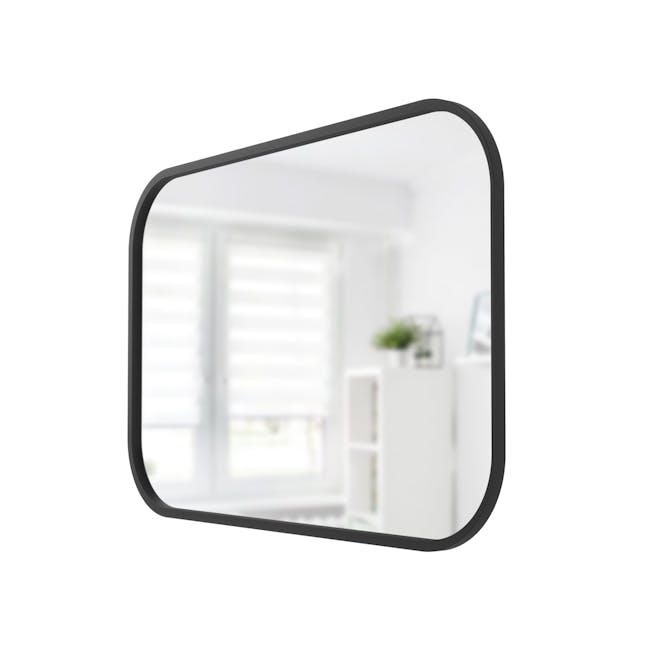 Hub Rectangle Mirror 61 x 91 cm - Black - 2