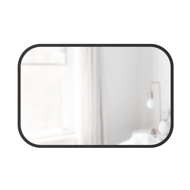 Hub Rectangle Mirror 61 x 91 cm - Black - 1