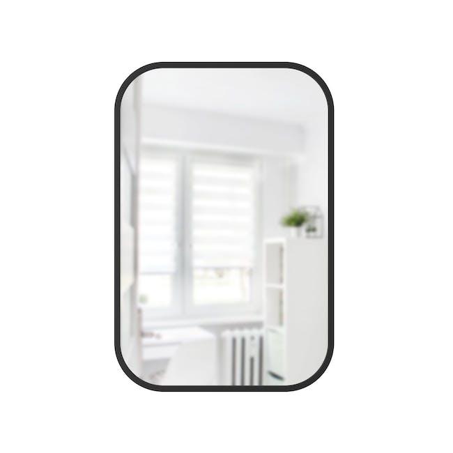 Hub Rectangle Mirror 61 x 91 cm - Black - 0