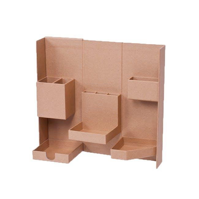 Lifestyle Tool Box - Brown - Medium - 2