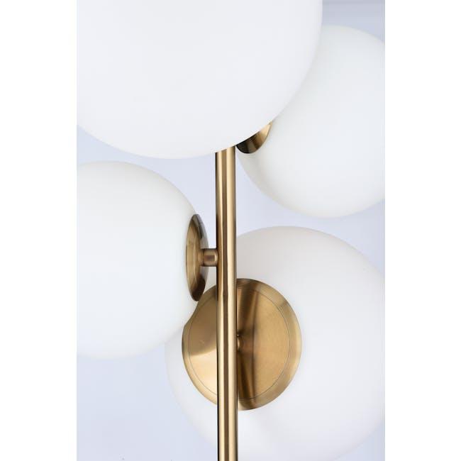 Luocco Marble Floor Lamp - White - 5