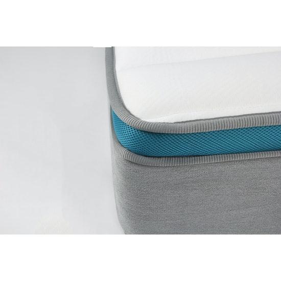HipVan Bundles - Leland Queen Platform Bed with DREAM Mattress