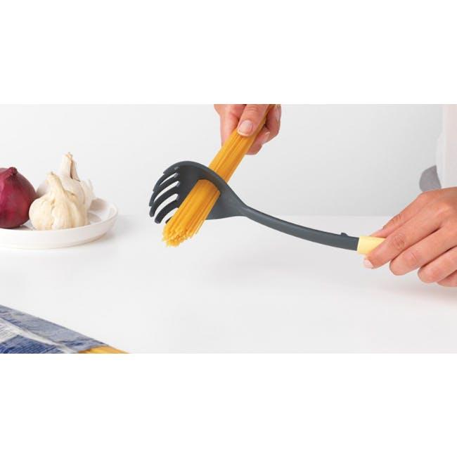 Tasty+ Spaghetti Scoop & Measure Tool - Vanilla Yellow - 1