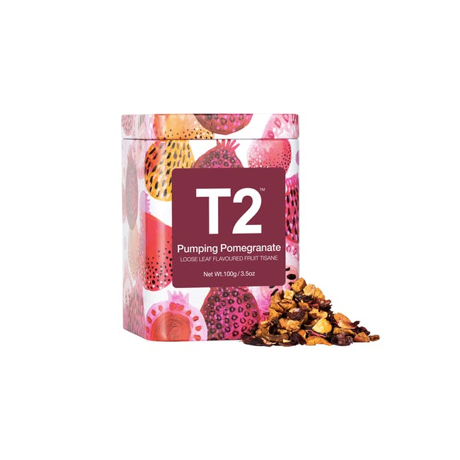 T2 Icon Tins - Pumping Pomegranate - 0