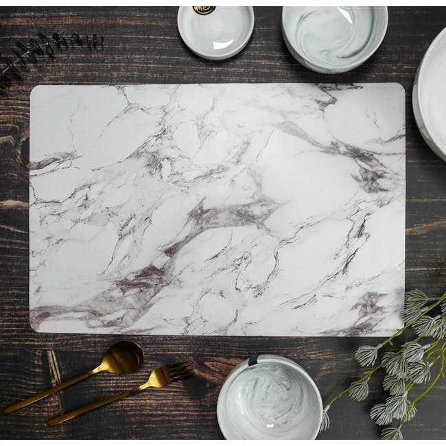 Marble Placemat (PVC) - 1