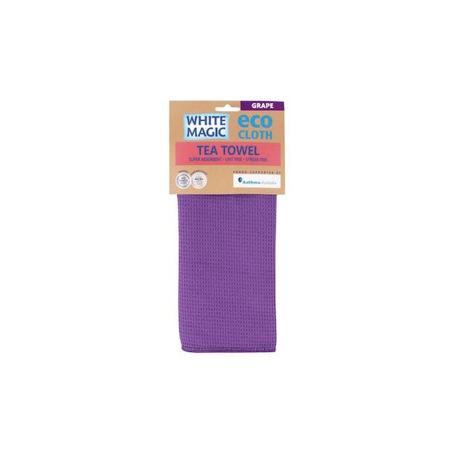 Tea Towel Single - Grape - 2