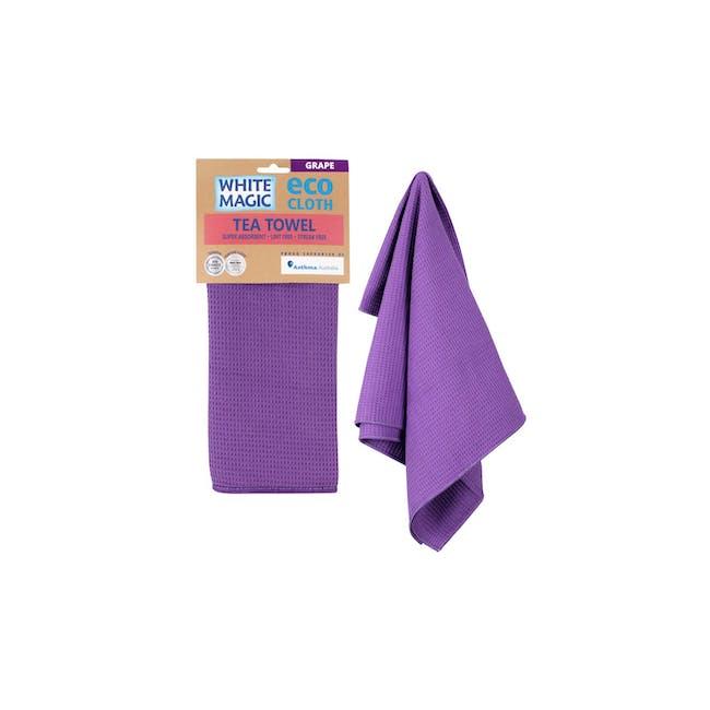 Tea Towel Single - Grape - 1