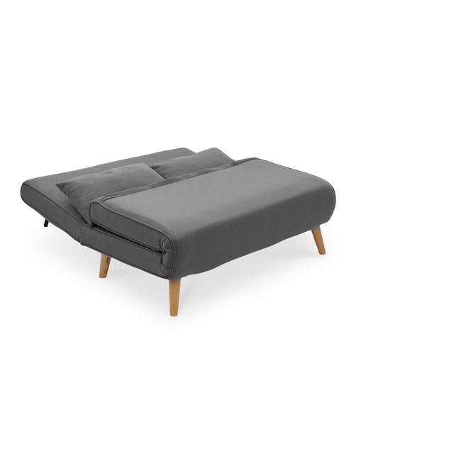 Noel 2 Seater Sofa Bed - Ebony - 11