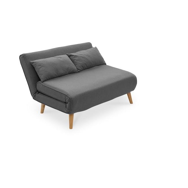 Noel 2 Seater Sofa Bed - Ebony - 8