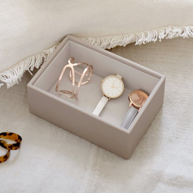 Stackers Mini Watch/ Accessory Layer - Taupe - 1