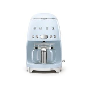 Smeg Drip Coffee Machine - Pastel Blue