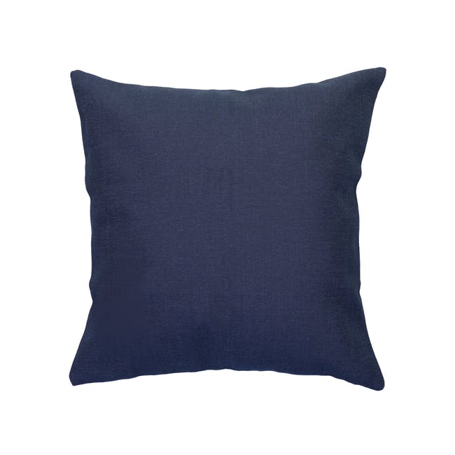 Throw Cushion - Navy - 0