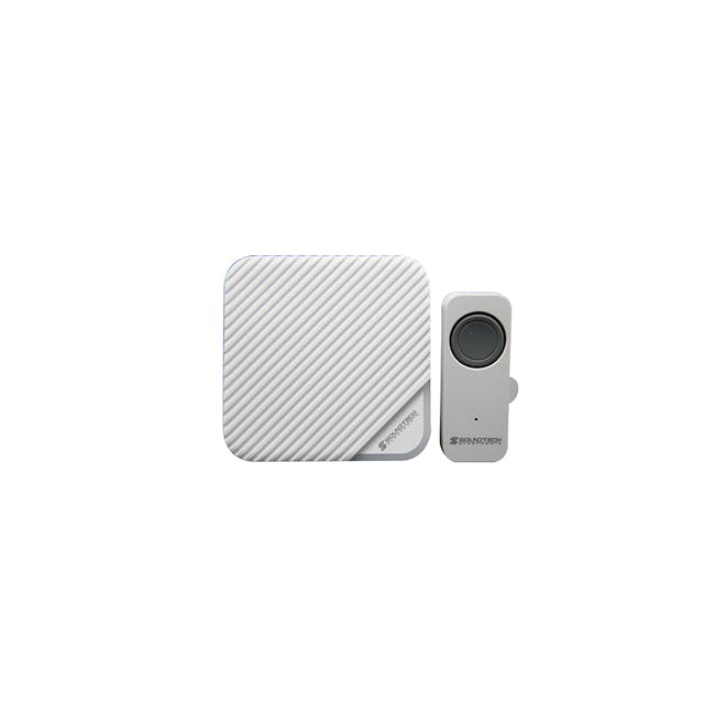 SOUNDTEOH Battery Operated Wireless DoorBell DD-188 - 0