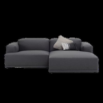 Flex 3 Seater L Shape Sofa - Dim Grey - Image 1