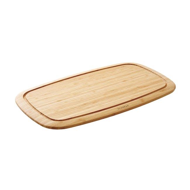 SCANPAN Bamboo Cutting Board (2 Sizes) - 0