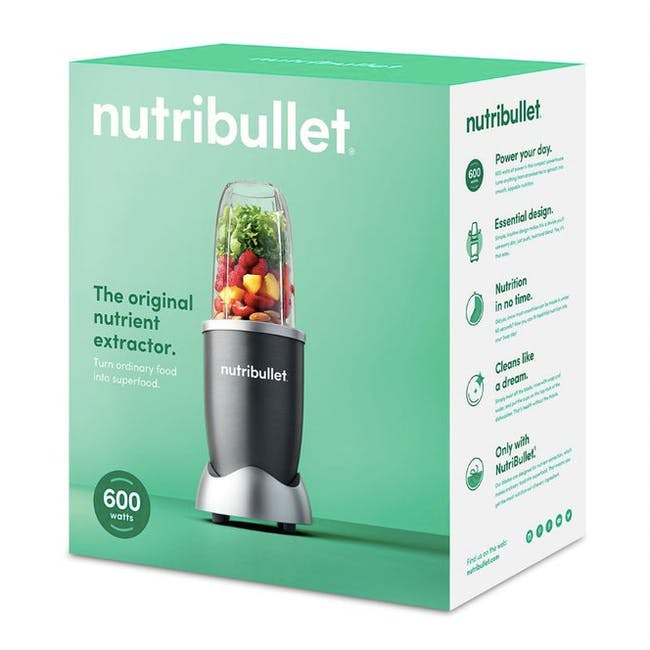 NutriBullet 600W Personal Blender - Grey - 9