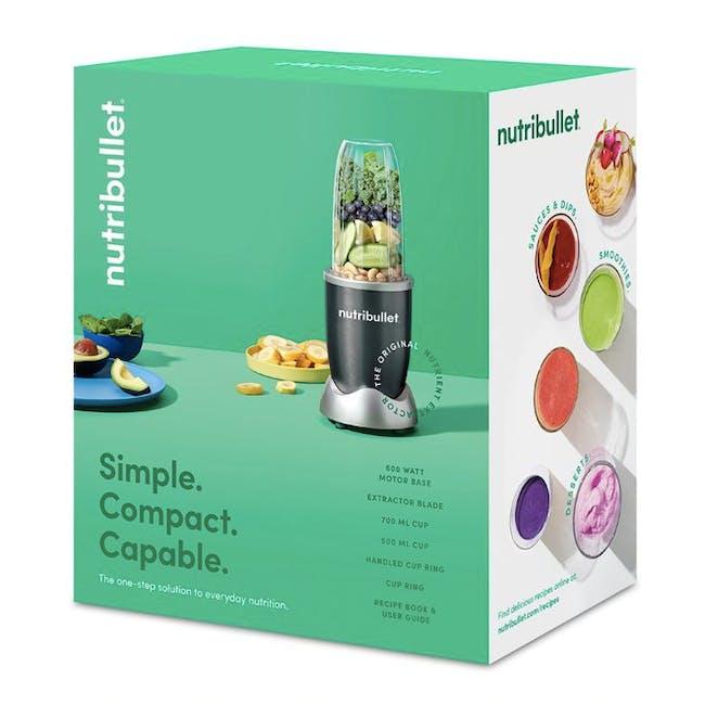 NutriBullet 600W Personal Blender - Grey - 10