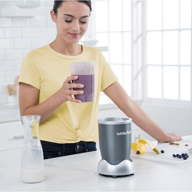 NutriBullet 600W Personal Blender - Grey - 5