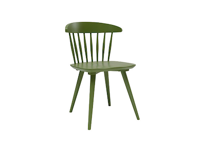 Iria Dining Chair - Green - Image 1