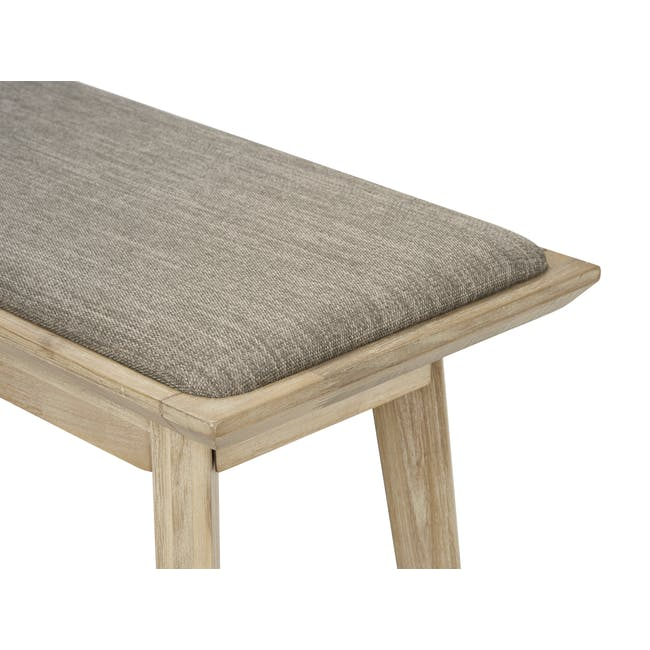Leland Cushioned Bench 1.3m - 3