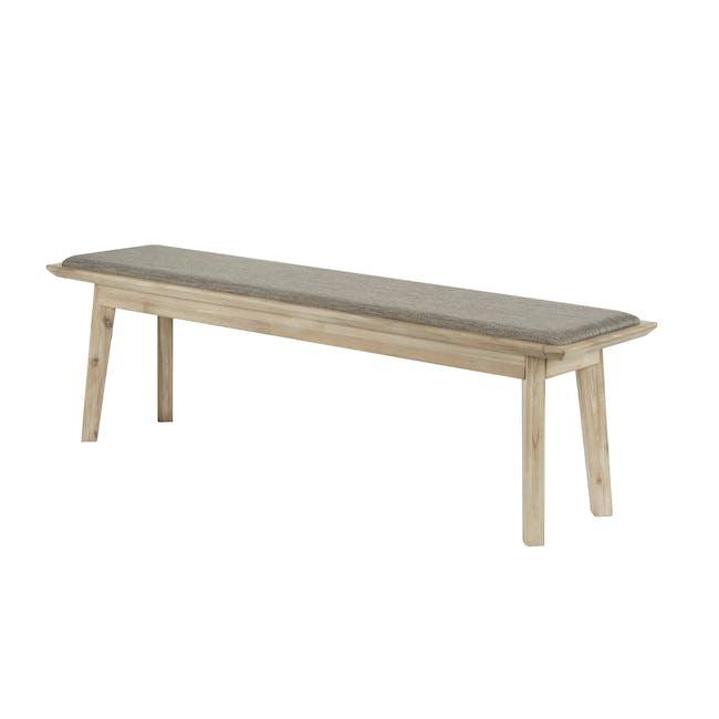 Leland Cushioned Bench 1.3m - 0