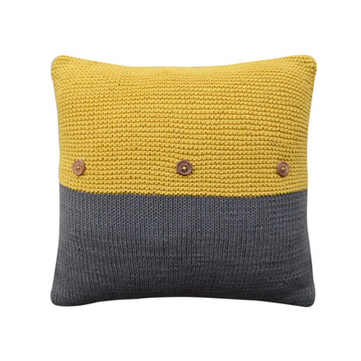 Keira Cushion - Yellow - Image 2