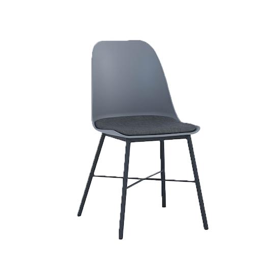Denver Dining Chair Grey Laholm Hipvan