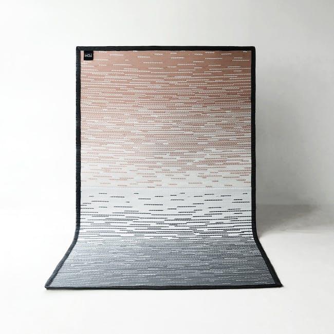 Dawn Medium Reversible Mat 2.4m x 1.5m - Grey & Pink - 3