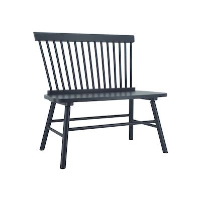 Lovie Dining Bench - Black