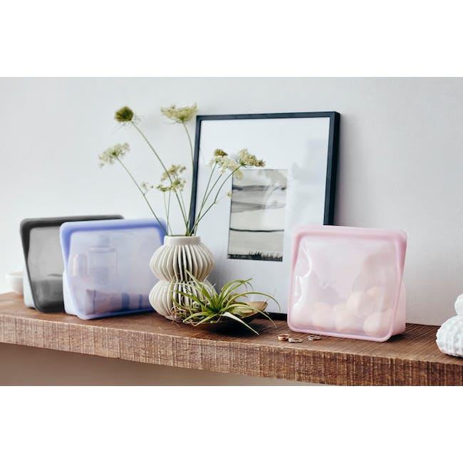 Stasher Reusable Silicone Bag - Stand-Up - Amethyst - 6