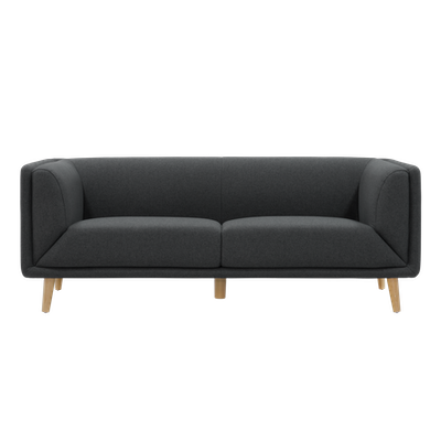 Audrey 3 Seater Sofa - Carbon - Image 1