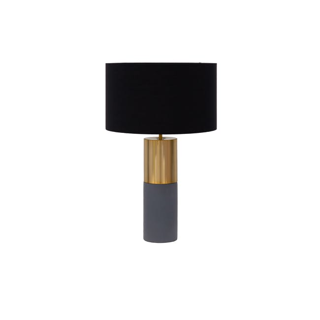(As-is) Aiden Table Lamp - Brass - 7 - 0