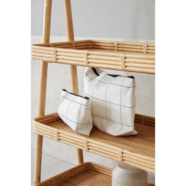 Squares Makeup Bag - 1