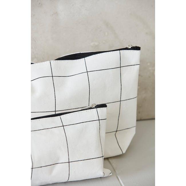 Squares Makeup Bag - 3