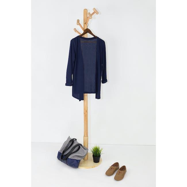Wooden Hangers (Set of 10) - Walnut - 5