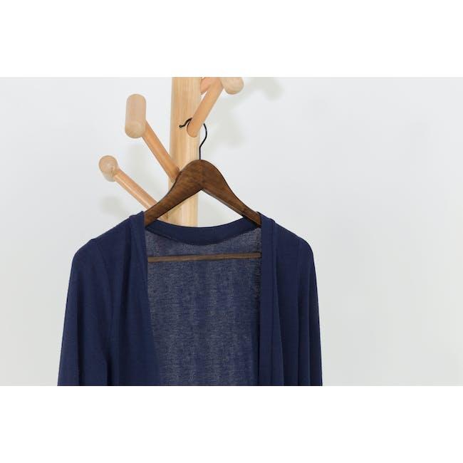 Wooden Hangers (Set of 10) - Walnut - 1