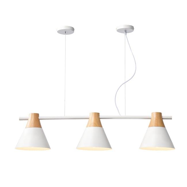 Thora Bar Pendant Lamp  - White - 0