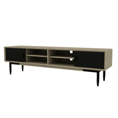 Starck TV Console 2m with Starck Coffee Table - Image 2