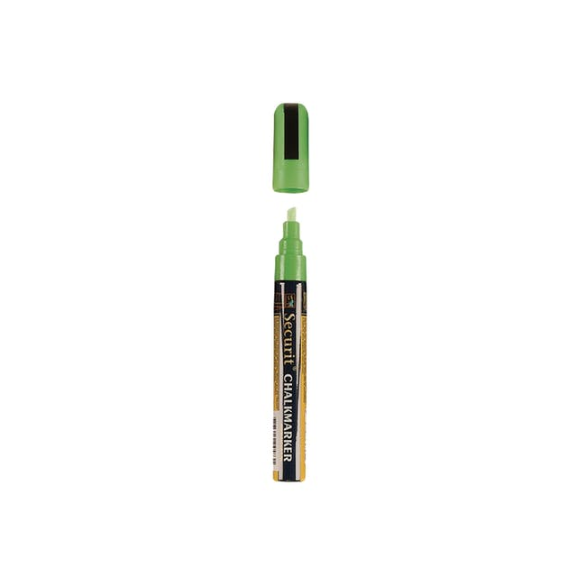 Securit Liquid Chalk Marker With 2-6Mm Tip - Green - 0