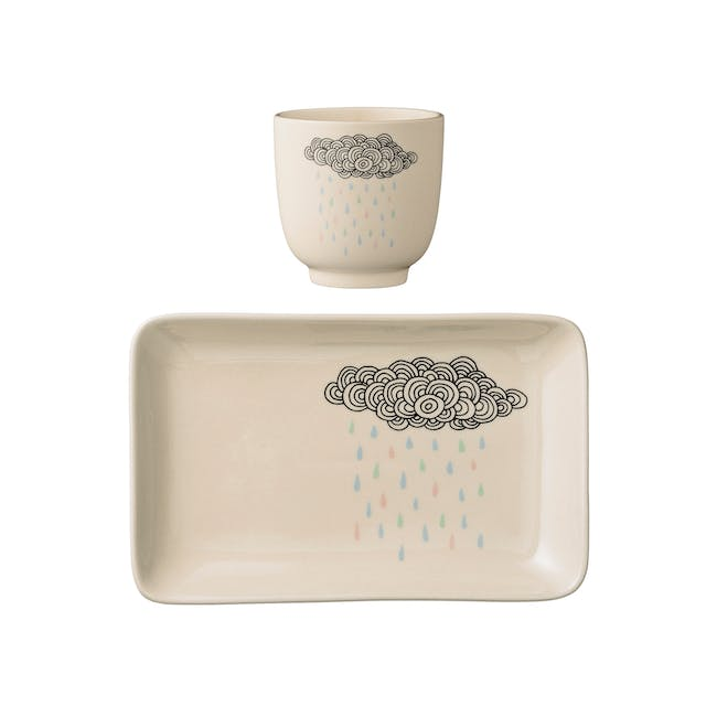 Adel Cup & Plate Set - 0