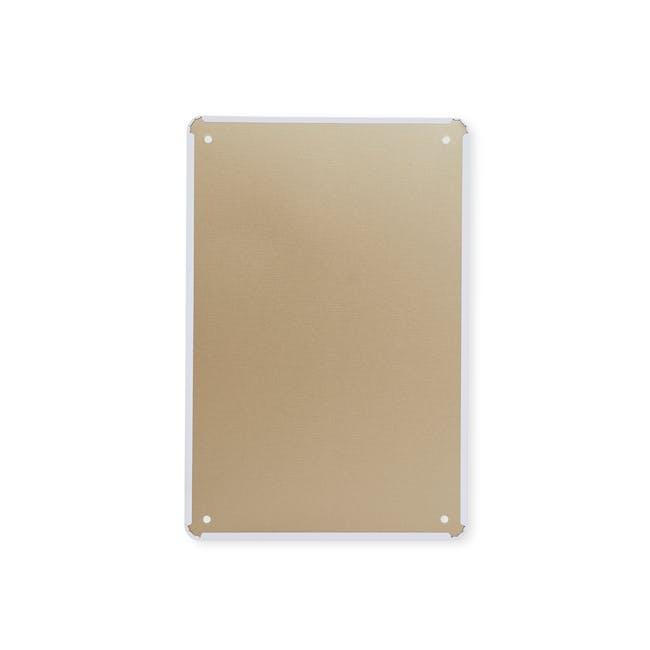 Tin Plate Wall Decor - Tough Times Never Last - 1