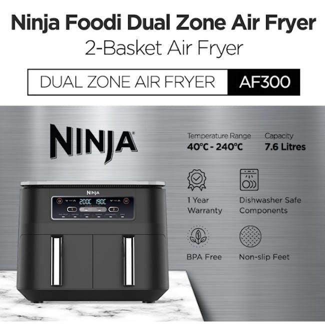 Ninja Foodi Dual Zone Air Fryer - 3