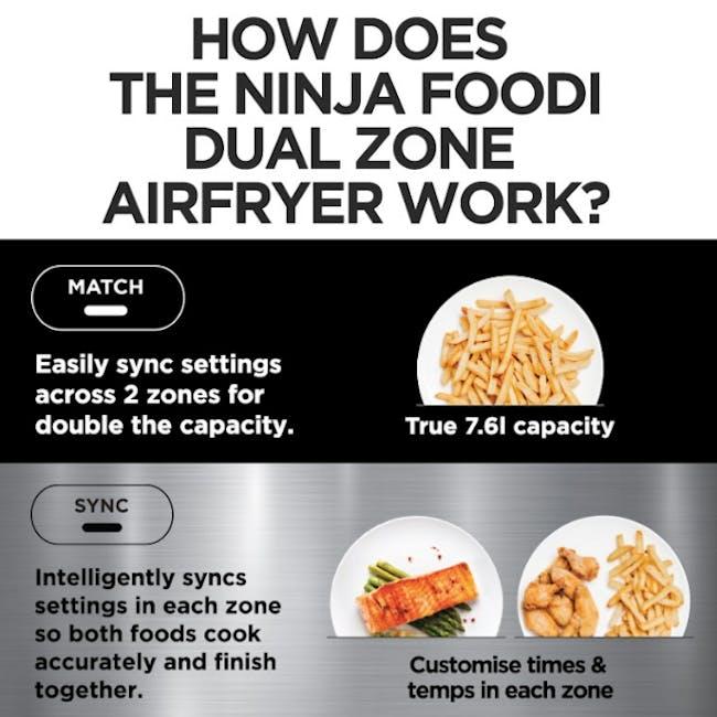 Ninja Foodi Dual Zone Air Fryer - 6