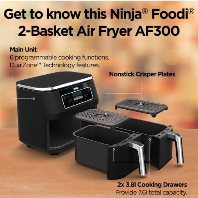 Ninja Foodi Dual Zone Air Fryer - 4